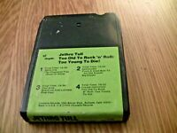 Jethro Tull Too Old To Rock 'N' Roll,Too Young To Die 8-Track Cartridge Untested