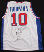 Dennis Rodman Signed Detroit Pistons Jersey (JSA COA) NBA