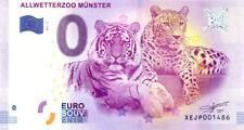 ALLEMAGNE Münster, Allwetterzoo 2, 2017, Billet 0 € Souvenir