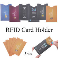 Antivol Banque Détenteur de carte écran RFID Cloison Couvercle de protection