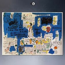 "Jean Michel Basquiat ""Ascent"" NEW HD print on canvas large wall picture 32x24"""