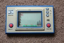 NINTENDO CGL GAME & WATCH FIRE FR-27 1981 GOOD CONDITION