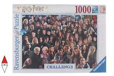 PUZZLE TEMATICO RAVENSBURGER CHALLENGE PUZZLE HARRY POTTER 1000 PZ