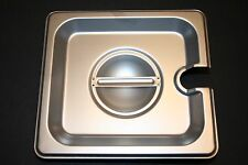 6 PACK 1/6 Size PAN LID Stainless Steel Steam Hotel Prep Table Food Cover NEW