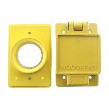 (K) WoodHead 6700 Watertite Receptacle Cover
