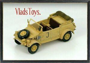 Hobby Master 1:48 Volkswagen VW 82 Kubelwagen German Army Tunisia 1943 HG1202