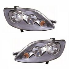 For VW Golf Plus Mk5 2005-2009 Headlights Headlamps 1 Pair O/s & N/s