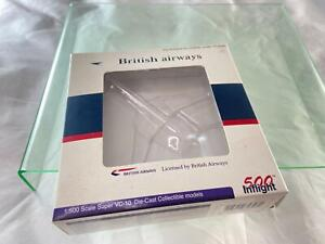 500 Inflight Vickers Super VC10 British Airways Model Box Only