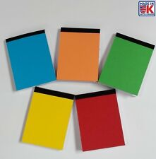 10 X A7 PLAIN WHITE PAPER MINI JOTTER/ NOTE PADS