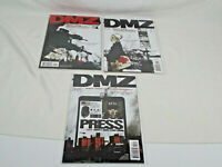 DMZ #1-3 Vertigo On The Ground 3 Part Series Brian Wood Burchielli Bag & Boarded