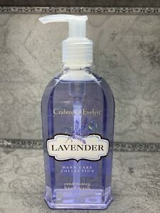 Crabtree & Evelyn LAVENDER Conditioning Hand Wash 8.5oz NEW SAME DAY SHIP!