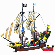 Enlighten Pirate Ship Boat Adventure Building Block 590pcs