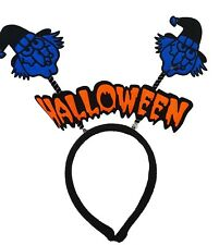 Blue Witch Halloween Headband Party Fancy Dress Up Show Accessory Kids Adults