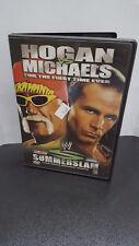 ** WWE - Summerslam 2005 (DVD, 2005, Used) -- Hulk Hogan, Shawn Michaels