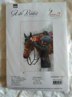 Campion (Champion) counted cross stitch kit Luca-s sealed