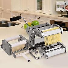 Goplus Fresh Pasta Maker Machine Roller With 4 Cutters & Bonus Ravioli Cutter