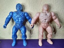 HOLY GRAILS VTG 1980s MOTU HE-MAN SKELETOR HUGE BLOWN PLASTIC KO BOOTLEG FIGURES