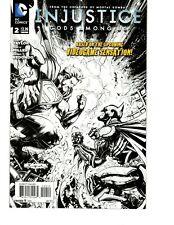 INJUSTICE GODS AMONG US #2, VARIANT COVER, DC COMICS (CC2)