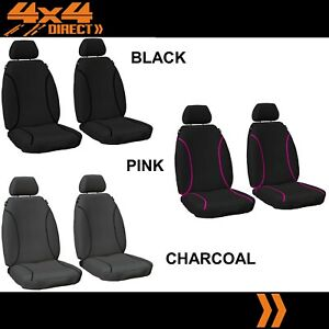 SINGLE ROW CUSTOM 14oz CANVAS SEAT COVER FOR VOLKSWAGEN TRANSPORTER 02-04 4DR