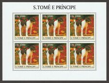 Toy Fox Terrier * Int'l Postage Stamp Art Collection * Great Gift Idea *
