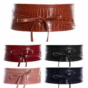 Women's Belt Sash Eco-Leather Obi Band Broadband Belt Toocool ZSP-12