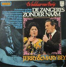 ZANGERES ZONDER NAAM / JERRY & MARY BEY  - DE BEDELAAR VAN PARIJS - LP