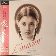 The Lover (aka L'amant) (Laserdisc Japan Made, 1992) Multi Audio French/English