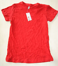 Tee-shirt rouge neuf 13/14 ans marque N.OW       (md)
