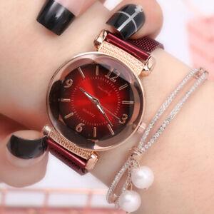 Fashion Luxury Ladies Women Girl Unisex Stainless Steel Quartz Wrist Watch 2021