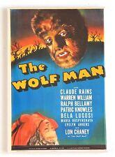 Wolf Man FRIDGE MAGNET (2.5 x 3.5 inches) movie poster werewolf