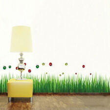 Grass Green Removable Wall Stickers Mural Art Home Decal Wall Sticker New