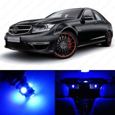 16 x Ultra Blue LED Interior Light Package For 2008 -2013 Mercedes C Class W204
