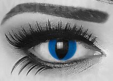 Farbige Kontaktlinsen Halloween rote wei�Ÿe Vampir Zombie crazy Motivlinsen Party