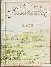 HISTORY CANTERBURY NSW , CHANGE & CHALLENGE  1979 1st