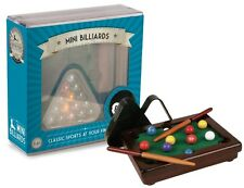 Mini Executive Billiards Fun Table Top Game Adults Children Toys Play Home