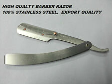 100% Stainless Steel Straight Edge Barber Blade Razor,SHAVING RAZOR EXPORT