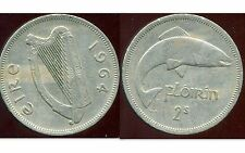 IRLANDE  1 florin 1964