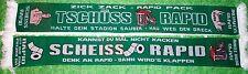 "Anti Rapid Schal ""Kannst du mal ni.."" Austria Fan Ultra Kurve Block +100% Acryl+"