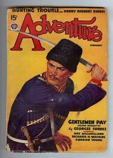 ADVENTURE / FEBRUARY 1938