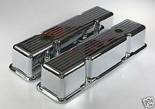 FORD WINDSOR Alloy Valve Covers Ball Milled