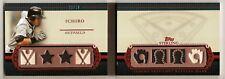2010 Sterling Booklet Ichiro 8 Piece JERSEY Bat /10