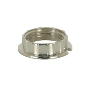 SATCO 80-1583 Chrome Ring To Stop Tubular Glass  (PACK OF 2) G9 Socket Access.