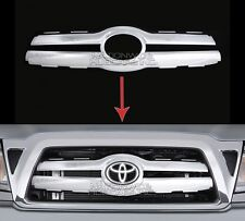 05-10 Toyota Tacoma CHROME Snap On Grille Overlay Front Grill Cover Insert Trim