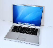 Apple Titanium Powerbook G4 A1025 1GHz - 1GB RAM - 60GB HDD TiBook