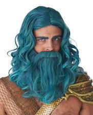 California Costume Ocean King Wig And Beard Set Adult Men Halloween 7120/113