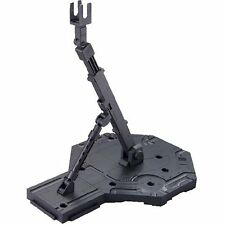 Plastic_model_Toy Bandai Hobby Action Base 1 Display Stand Black Clear F/S SB