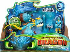 DreamWorks Dragons, The Hidden World -  Stormfly and Astrid