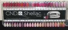 CND Shellac Salon NAIL TIP COLOUR Chart Palette - 128 Colour Tips - *NEW*