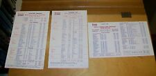 BRITISH AIRWAYS QUICK CONNECTIONS FROM TEL AVIV  TIMETABLES 1980-83 (3)