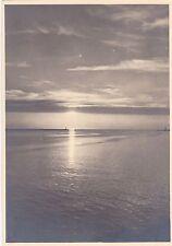 O 288 - Pillau, Hafeneinfahrt (beim Sonnenuntergang) - ungelaufen